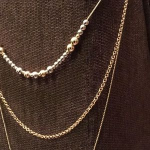 Jewelry - ** 3 for $45 SALE ** Multi-chained tassel necklace